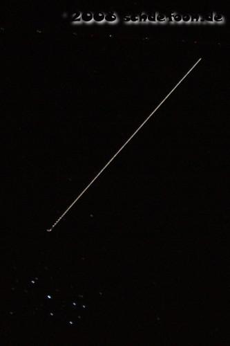 ISS bei Plejaden