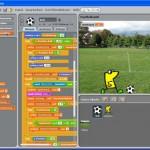 Entwicklungsumgebung der Scratch-Software