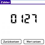 Hauptfenster der Zaehler-Software