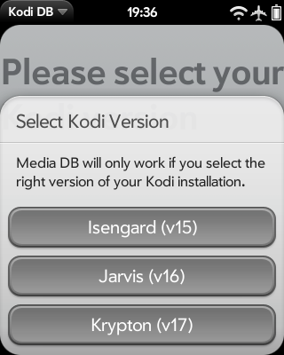 Media DB - Remote control for Kodi (inofficial) Screenshot 0