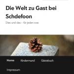 Schdefoon's Blog im Browserfenster