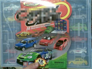 Mogelpackung Spielzeugautos