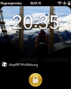 Screenshot TorAlarm bei Anpfiff
