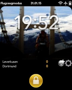 Screenshot TorAlarm bei laufendem Spiel