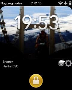 Screenshot TorAlarm bei noch nicht begonnenem Spiel