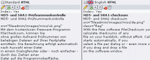 Sprachverwaltung im TYPO3-Backend
